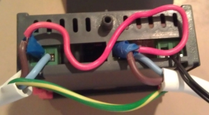 Temp control unit wire up