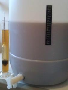 Pseudo Lager fermenter