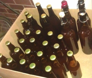 Pseudo Lager 1 bottled