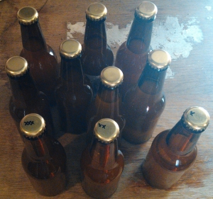 Extra Pale Ale 1 bottled