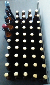 Milk Porter 1 bottled